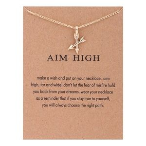 Jewelry - 4 for $25⚡️Aim High crossed arrow necklace